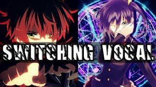 Nightcore - Serotonin「Switching Vocal」