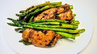 Garlic Herb Chicken and Asparagus   Chicken and Asparagus Stir Fry   How to Cook Asparagus in Pan