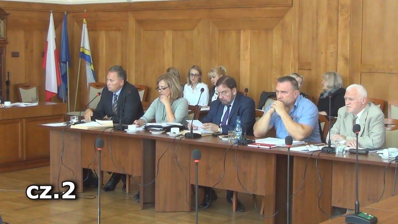 XXXV sesja Rady Miasta Malborka cz.2 – 28.09.2017