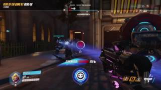 Overwatch: Stoked af nailing Sombra hacked Play of the Game