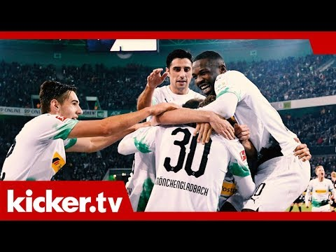 "Gladbach bleibt Tabellenführer - ""Ein phänomenales Gefühl"" | kicker.tv"