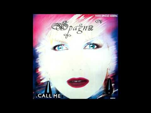 Spagna - Call me ''Extended Version'' (1987)