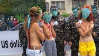 Разные и голые и полуголые россияне