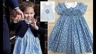 Princess Charlotte adorable £45 Periwinkle dress sells out after she outside the Lindo Wing