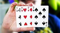 Kartentrick mit Vorhersage - 2 Techniken, die jeden Anfänger zum Zauberer machen!