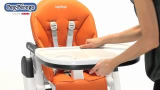 Стульчик для кормления Peg-Perego - Siesta(Многофункциональный ультракомпактный стульчик, который растёт вместе с вашим ребенком. Подробнее: http://www.yot..., 2012-06-16T13:44:41.000Z)