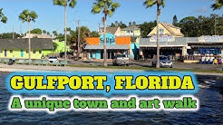 Gulfport Florida a unique town and art walk