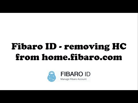 [Tutorial] Fibaro ID - removing HC from old remote access