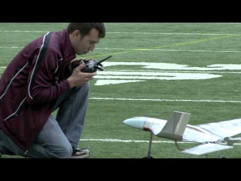 Aerospace Engineer Students Test-Fly Creations in Carrier Dome