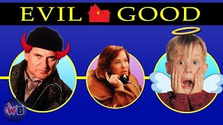 Home Alone Characters: Evil to Good