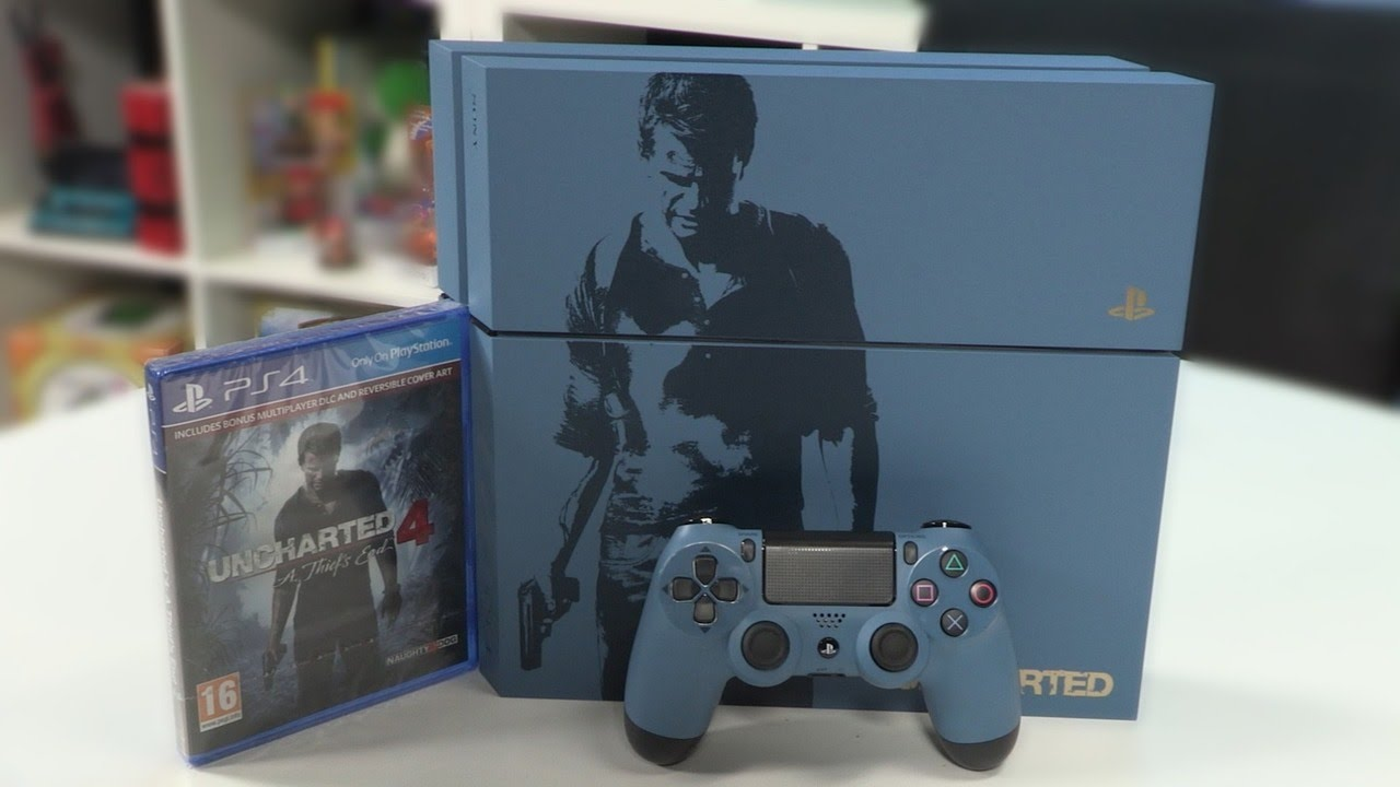 Uncharted 4 Playstation 4 Unboxing Youtube