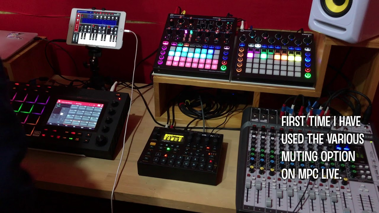 MPC Live | Circuit | Mono Station | Digitakt | iPad Jam