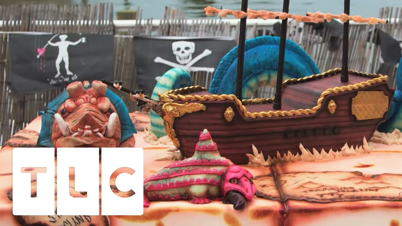 A Beautiful Old World Pirate Ship Cake Cake Boss Youtube