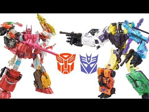 Transformers Combiner Wars Complete Bruticus Robot Battles Computron Lots of Toys