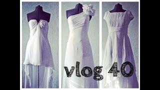Vlog #40 Отпарила свадебное платье, на почту, за продуктами, переела ирисок =)