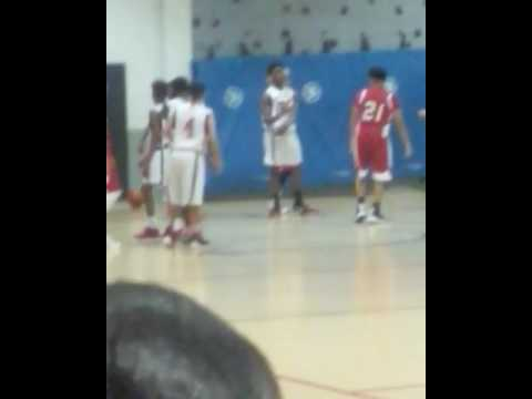 Clack Middle School  Basketball Game