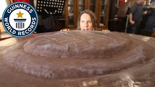 How to make the world's largest Jaffa Cake - Guinness World Records