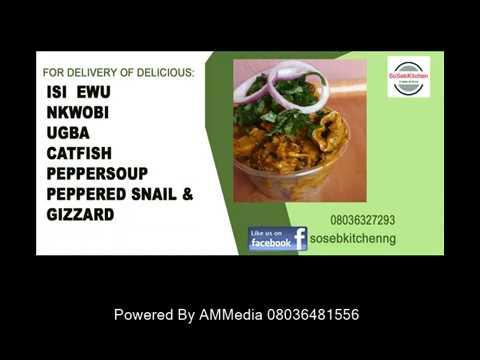how to prepare isi ewu youtube