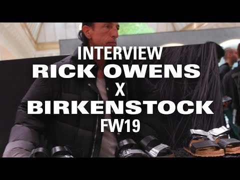 Rick Owens Says He Knew His Birkenstock Collab Was Fire When His Wife Liked Them