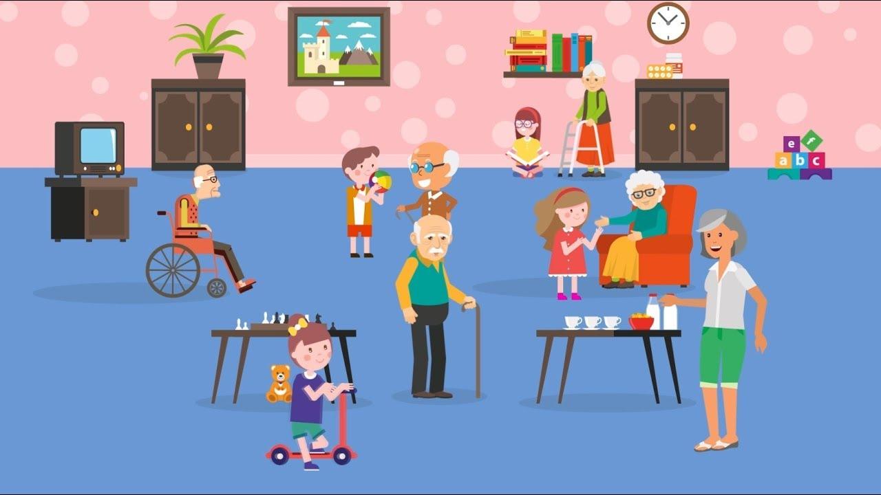 Vídeo Explicativo Animado Intergeracional, Vídeo Institucional Animado, Vídeo Animado para Empresas