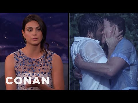 Morena Baccarin & Conan Have Both Made Love To Ryan Reynolds  - CONAN on TBS