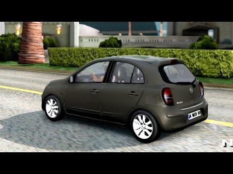 Nissan Micra   #2 New Cars / Vehicles 2 to GTA San Andreas [ENB]