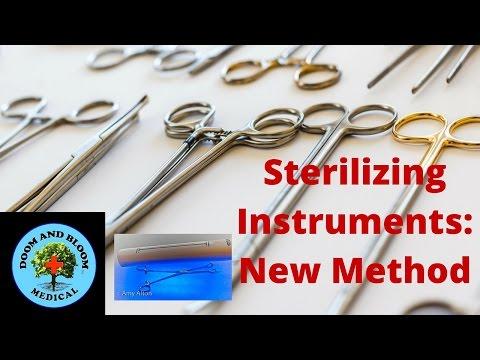Sterilization of Instruments: New Method