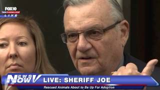 FNN: Sheriff Joe Arpaio Discusses Puppy Mill Pugs Up for Adoption