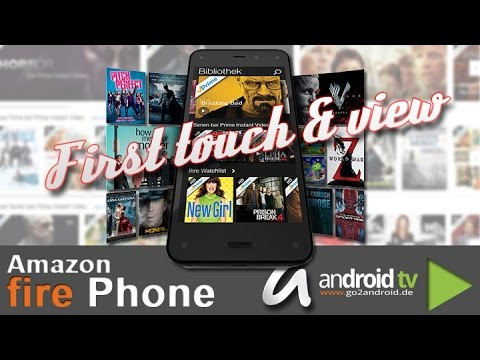 Amazon Fire Phone - First touch & view [GER]