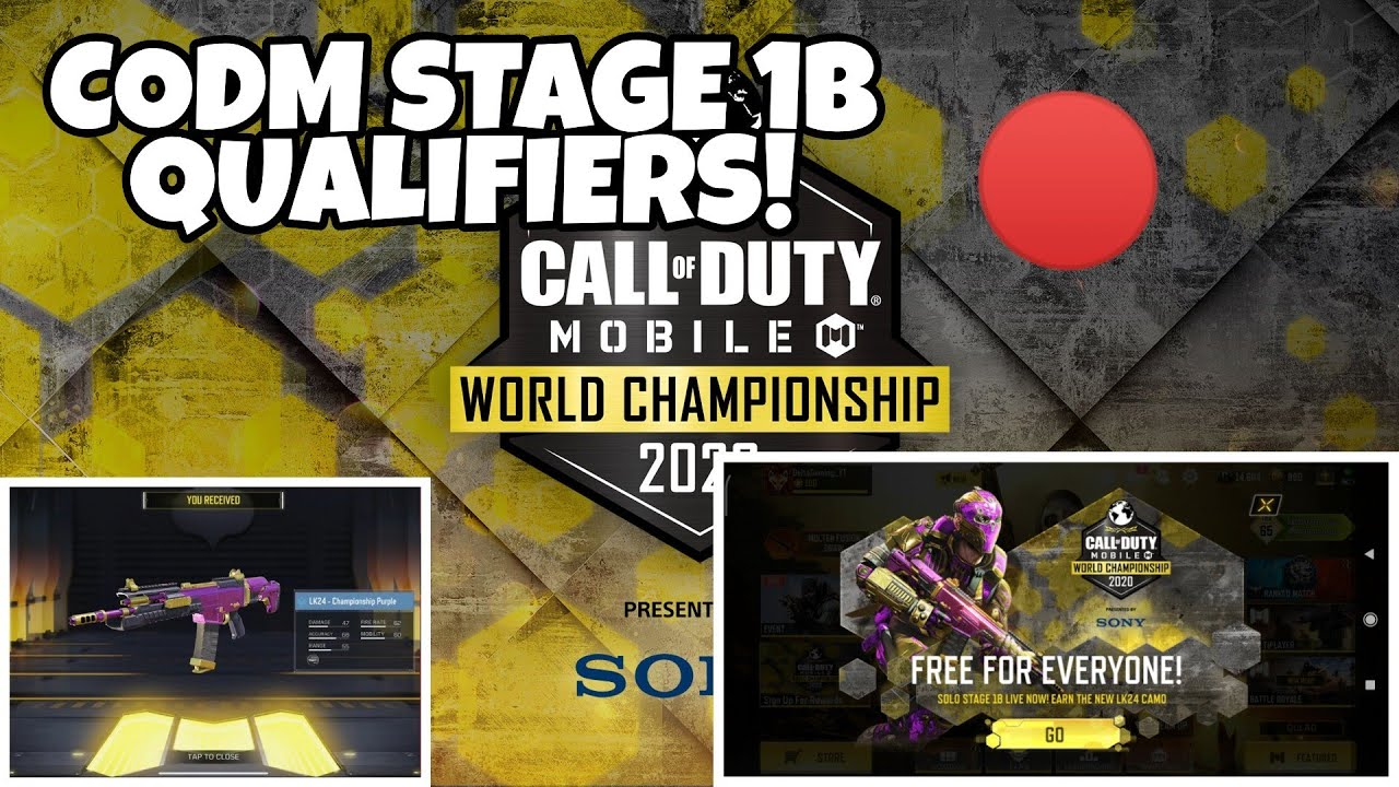 COD Mobile Stage 1 Qualifiers LIVE!!!