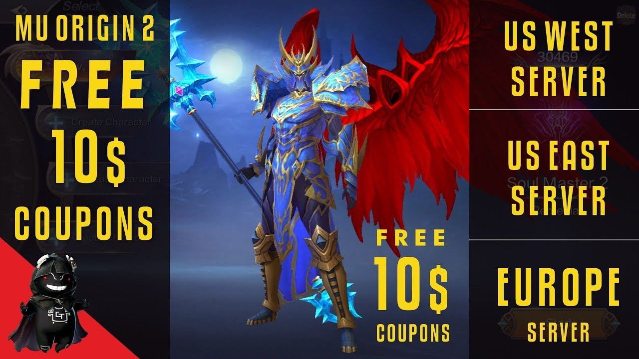 MU ORIGIN 2 - FREE 10$ COUPONS EVENT !!! / BEDAVA 10$ KUPON DAĞITIMI !!!