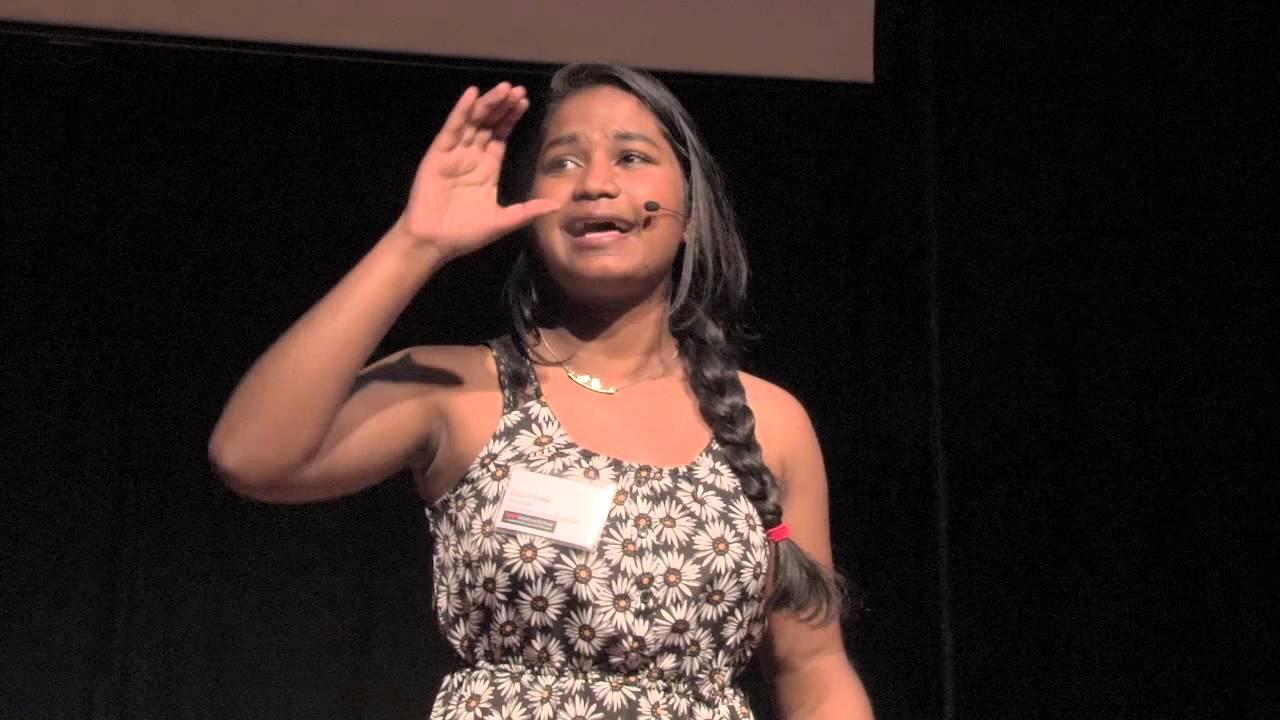 Spoken word poetry | Erica D'Costa | TEDxSoleburySchool