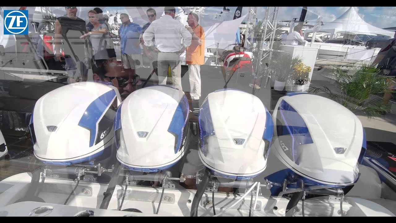 Zf marine at fort lauderdale boat show 3 4 en youtube for Used outboard motors nj