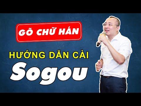 Phần Mềm Học Tiếng Trung   Hướng Dẫn Cài Phần Mềm Gõ Chữ Hán Sogou