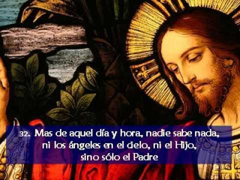 Resultado de imagen para MARCOS 13:32
