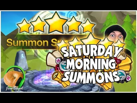 SUMMONERS WAR : SATURDAY MORNING SUMMONS! 500+ Mystical, LD, Legendary Scrolls and more! (3/31/18)