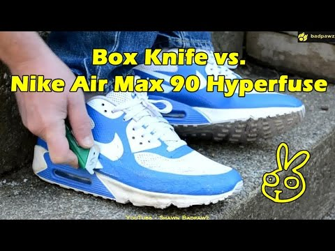 f700e032a1a4ab New Nike Air Max 90 Hyperfuse - Scrape on concrete and a bunch of little  cuts. AM02