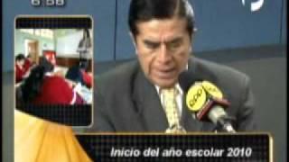 RPP NOTICIAS 28/02/2010 MAÑANA LUNES SE INICIA EL AÑO ESCOLAR 2010
