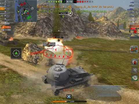 [TEAM ID] World Of Tanks Blitz // VK 72.01 K // Name_violation2008457392