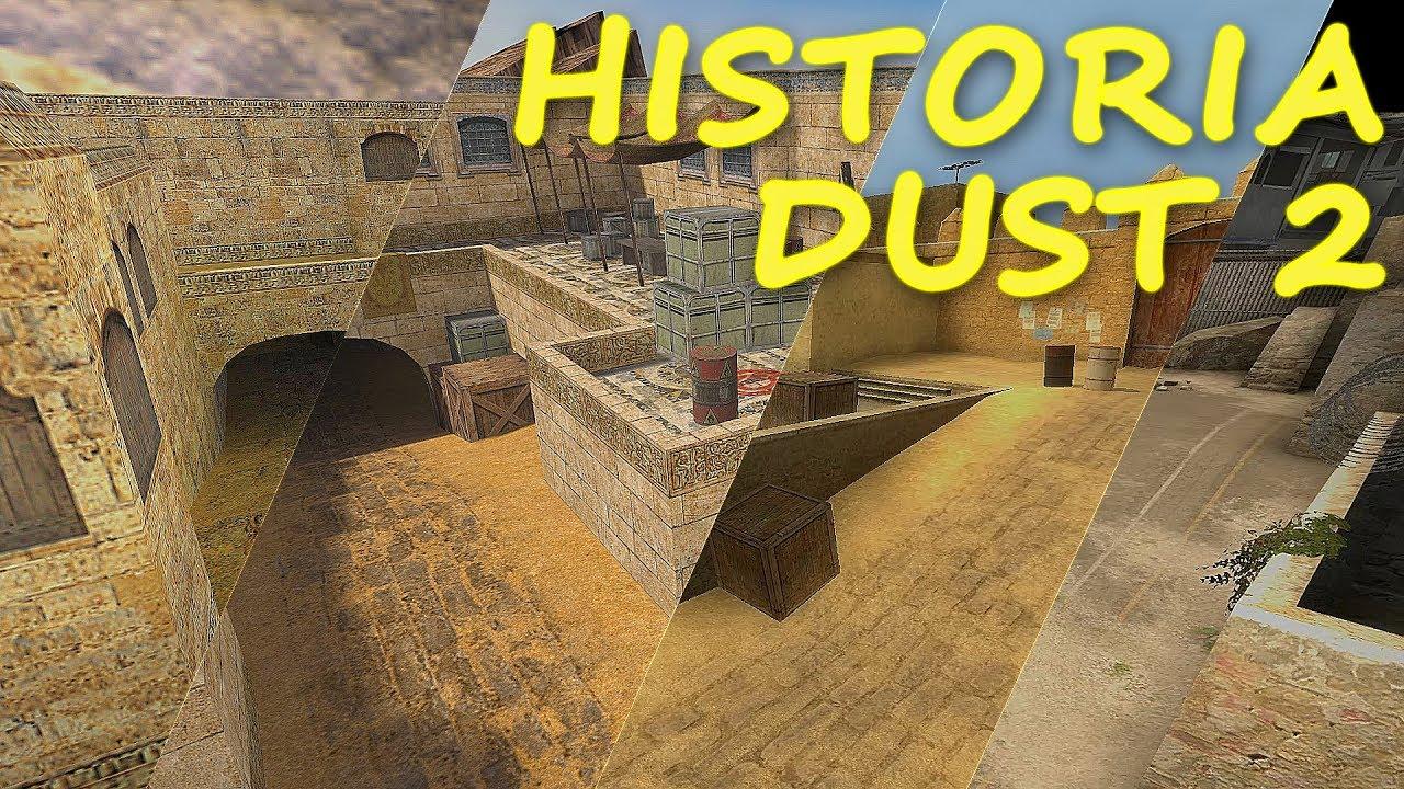 JAK ZMIENIAŁ SIĘ DUST 2? – Historia Map #1 | Mervo