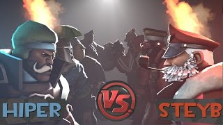 HIPER vs STEYB - CIVIL WAR #TeamNoPiña
