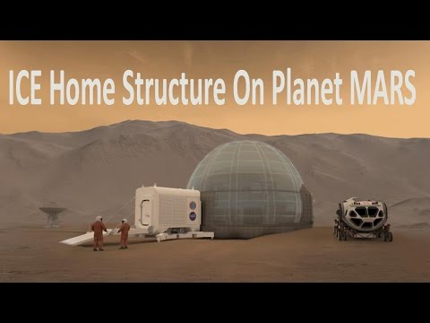 Ice Homes On Planet Mars!