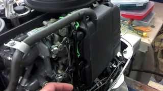 BF50A qo'pol Honda idling / Honda-50 bo'sh da chayqagancha