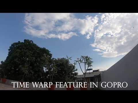 Time Warp in GoPro Speed Comparison Video