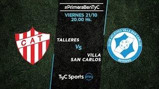 CA Talleres Remedios de Escalada vs Villa San Carlos full match