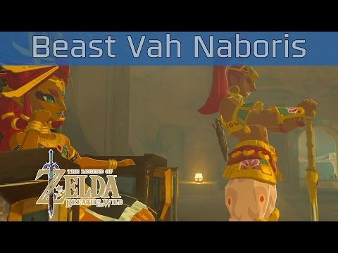 The Legend of Zelda: Breath of the Wild - Divine Beast Vah Naboris Walkthrough [HD 1080P]