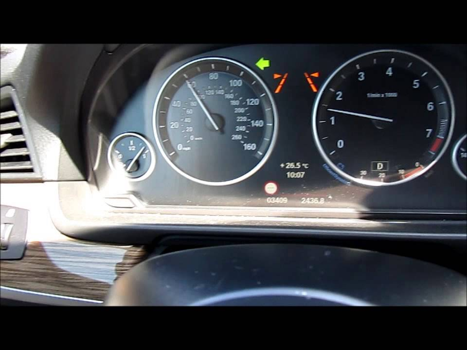 2014 Bmw 5 Series Lane Assist Blind Spot Detection Youtube