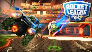 A PARTIDA MAIS ENGRAÇADA! - ROCKET LEAGUE