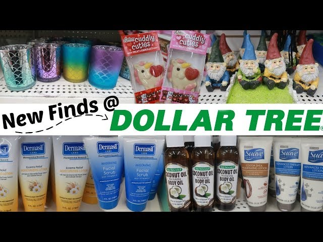 DOLLAR TREE SHOPPING * NEW FINDS/ COME WITH ME
