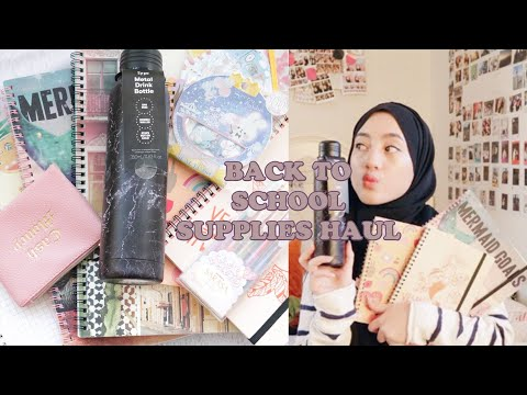 BACK TO SCHOOL SUPPLIES HAUL 2019 | INDONESIA